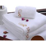 100% cotton bath towel hand towel for hotel
