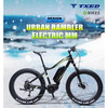 "28"" Electric Big Tyre Bike Middle Motor e Mountain Bike Fat Tyre"