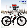 26'' fat tire electric bikes with brushless gearer motor