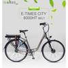 "28"" City e Cycle e Bikes Belt Conveyor System for Women"