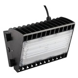 100W LED Semi Cutoff Wall Pack Light DLC UL With 5 Years warranty