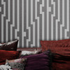 Wellmax Modern Stripe Wallpaper non-woven and Vinyl Wallpaper DIY Home Wallpaper