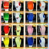 7G/10G rubber film working cheap gloves for industrial use