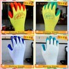 10G latex coated working gloves