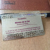Most popular cheap matte finish metal business card