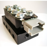 "Air Suspension Control Wiring Accu-Rate-Air 3/8"" Solenoid Valve Manifold Unit"