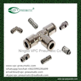 brass pneumatic fitting brass one touch-in fitting VMPC pneumatic connector