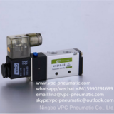 4Vseries pneumatic directional 3 position 5 port single control valve solenoid valve air valve pneumatic valve