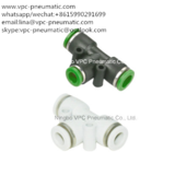 pneumatic fitting PE08 pneumatic connector pipe fitting tube fitting plastic fitting