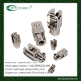end fitting for pneumatic cylinder-clevises clips and pins Y fitting floating fitting
