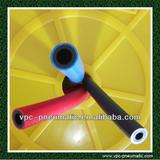PU tube pu hose double -deck weld spatter hose pvc fire ressistant hose