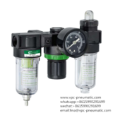 airtac type FRL air soucetreatment unit air preparations airtac type filter regulator lubricator