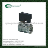 pneumatic valve 2/2 poilt-diaphragm stainless steel solenoid valve normal close solenoid valve