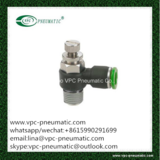 pneumatic fitting pipe fitting pneumatic push-in fitting speed controller VSC flow control valve