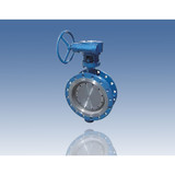 Double Eccentric Soft Seal Butterfly Valve