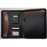 Zip portfolio with calculator Item: CR-004