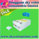 8x Refillable Pigment Ink Cartridges,for Epson 4800 4880 ,UltraChrome Reset