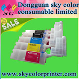 bulk ink system for Epson T3200 T5200 T7200 empty refill ink cartridge for epson T3000 T7000 printer , T3270 T5270 T7270