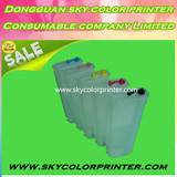 280ml Empty Refillable Ink Cartridge With Reset Chip For HP T610 T620 T770 T790 T795 T1100 T1120 T1200 T1300 T2300