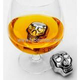 Skull Whisky ice cube