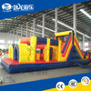 Outdoor toys games giant inflatable obstacle course for kids, inflatable floating obstacle for commercial