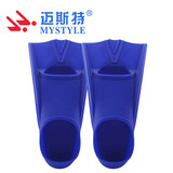 2019 high quality silicone swim flippers swimming training fins