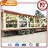 ZWB Mobile Full Automatic Modular Full-Weighing Lime Cement Stabilized Soil Batching Mixing Plant