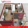 Villa Container Glass Steel Structure Custom House Bungalow