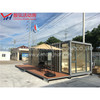 container house color steel sandwich panel holiday villa