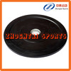100% virgin rubber black barbell bumper plates for sale
