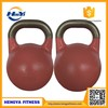 Wholesale Flat Presicion Casting Steel Competition Kettlebell