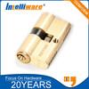 Euro profile anti theft brass lock cylinder