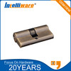 Euro profile anti-theft brass mortise cylinder lock