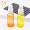 50ml Luxury Cosmetic Packaging Container Face oil Cosmetic Glass Bottle with dropper
