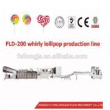 FLD-Whirly lollipop production line , lollipop making machine