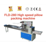 FLD-280 High speed pillow packing machine,Crisp candy,cookies or pastries packing machine