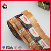 food grade packaging film roll for chocolate/power drink