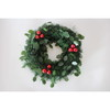 Hot sales artificial christmas wreath for indoor and outdoor decoration