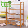 4-tier bamboo closet shoe storage organizer rack