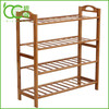 Bamboo Shoe Rack 4-Tier Entryway Shoe Shelf Storage Organizer
