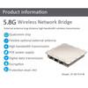 Economical outdoor digital bridge,remote wireless monitoring equipment,PTMP video transmission