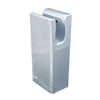 silver washroom sensor ECO9966 Jet Air Hand Dryer with brush motor Anti-bacterial ABS plastic material and UV light