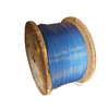 Metal products field golden supplier PVC coated steel wire rope
