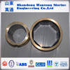 Marine water-lubrication cutless rubber bearing for ship