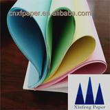 Muti-ply carbonless copy paper