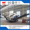 Crawler moving crushing station, mobile crushing plant