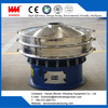 Fully enclosed structure rotary vibrating sieve for pharmaceutical industry
