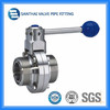 Stainless Steel Thread Connection Way Butterfly Valve