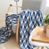 Sofa Geometric Patterns Cotton Knitting Blanket