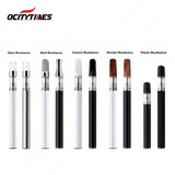 Different Mouthpiece CBD Vaporizer Glass Tank CCELL Disposable Vape Pen